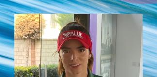 Gaby López golfista mexicana patrocinada por Telcel