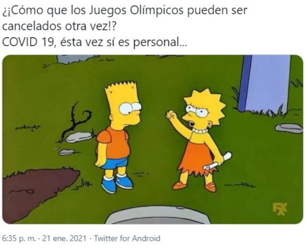 Twitter Juegos Olímpicos Tokio