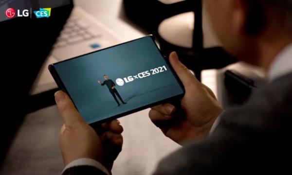 LG Enrollable presentación CES 2021