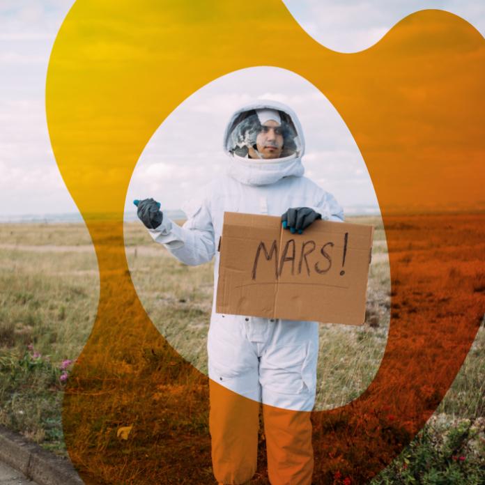 Marte cómo enviar tu nombre en el Rover