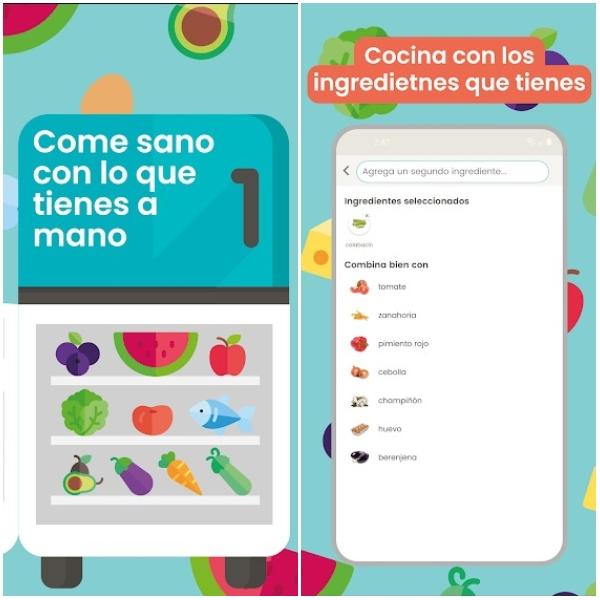 Nooddle app para dieta