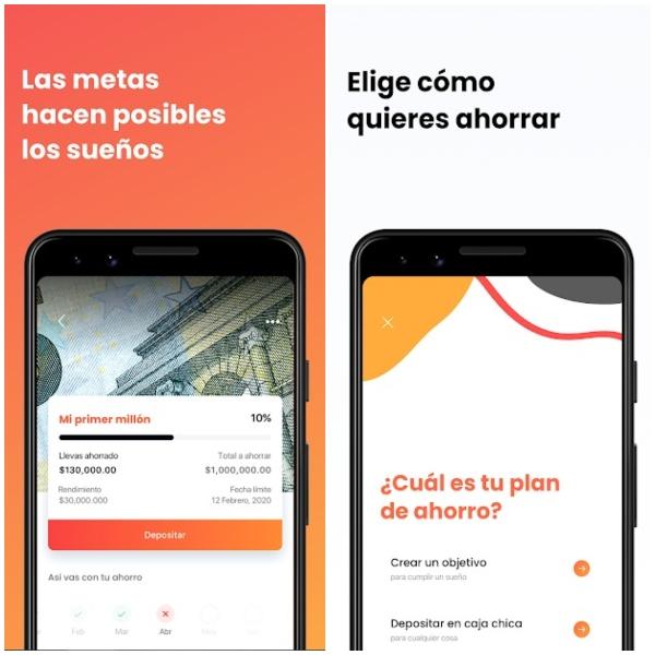 Piggo apps aplicaciones para ahorrar dinero
