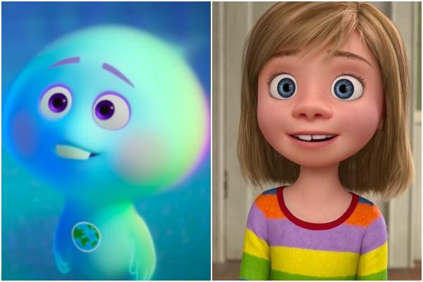 Teoría Pixar Soul 22 y Riley Intensa mente