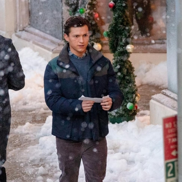 Tom Holland en Spider-Man 3 Navidad fotos