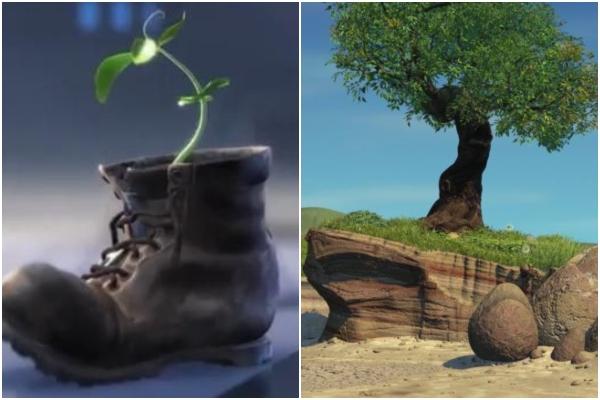 árbol Walll-e Bichos Pixar