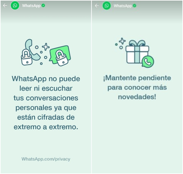 WhatsApp estados novedades