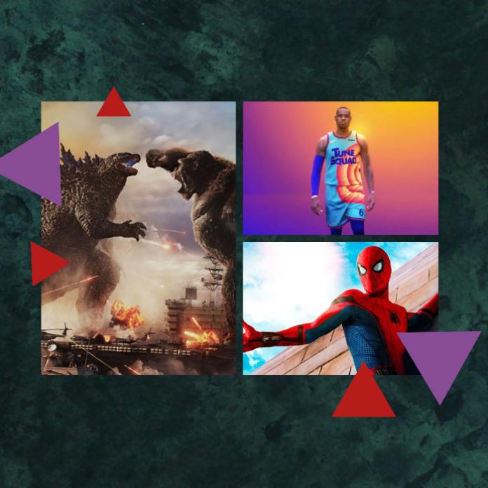 space jam, godzilla vs king kong y spider man tendran secuela en 2021