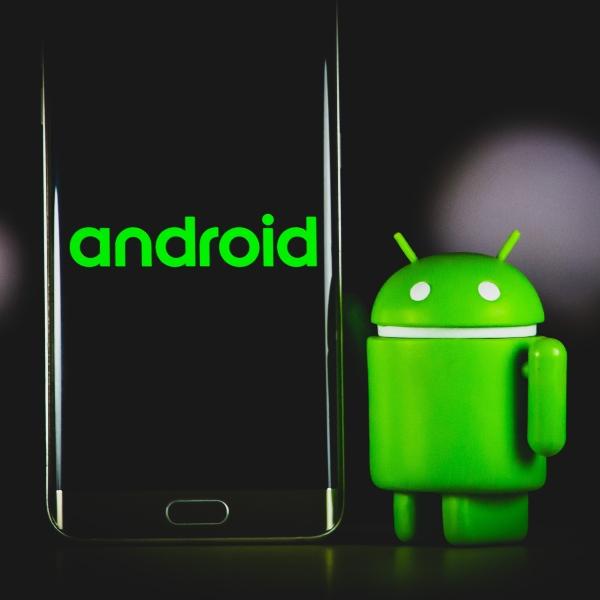 Android teléfono robot