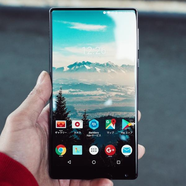 Teléfono Android menú pantalla principal