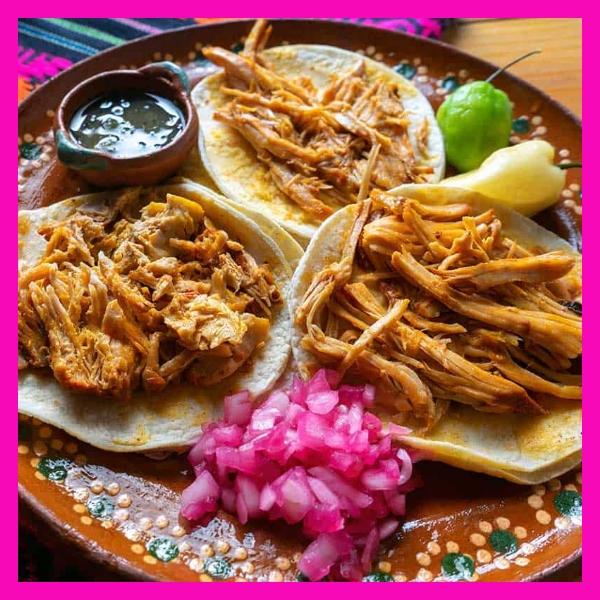 Tacos al pastor y cochinita pibil Mejores platillos del mundo