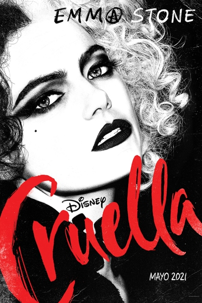 Primer poster oficial Cruella Disney
