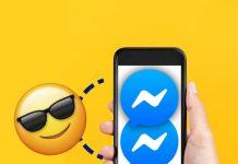 Dos cuentas Messenger