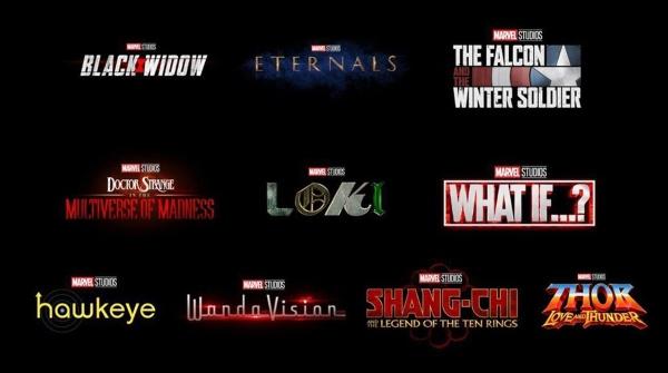 Fase 4 Marvel películas y series
