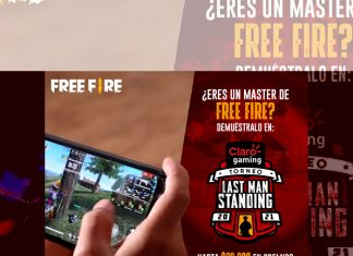 Free Fire Claro gaming Last Man Standing