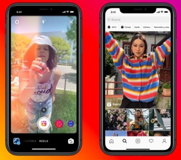 Instagram Historias nuevo formato vertical