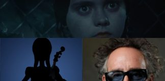 Serie Merlina dirigida por Tim Burton