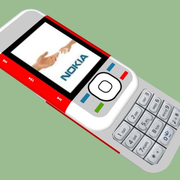 Nokia 5200 naranja
