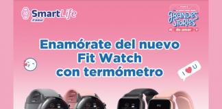 Estrena el nuevo Fit Watch con tu Plan Telcel Max Sin Límite Telcel