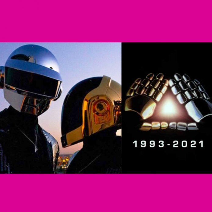 Daft Punk anuncia su separación tras 28 años