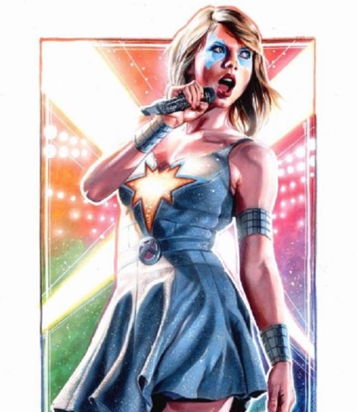 Taylor Swift Dazzler X-Men
