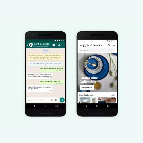 WhatsApp compras por Facebook Pay
