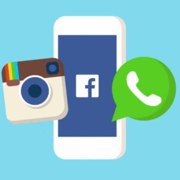 Facebook Instagram y WhatsApp