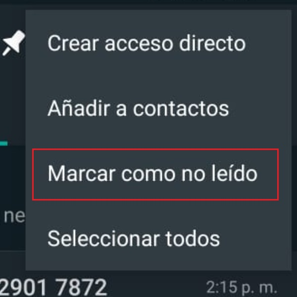 funciones desconocidas WhatsApp