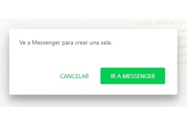 WhatsApp Web videollamadas Messenger Rooms