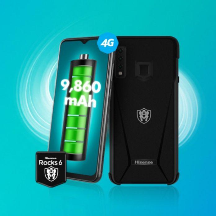 Hisense Rocks 6, el smartphone con una gran batería
