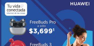 uawei Frebuds favoritos con Telcel al mejor precio