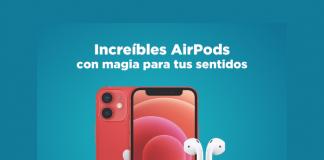 Estrena unos AirPods con estas increíbles promociones de Telcel