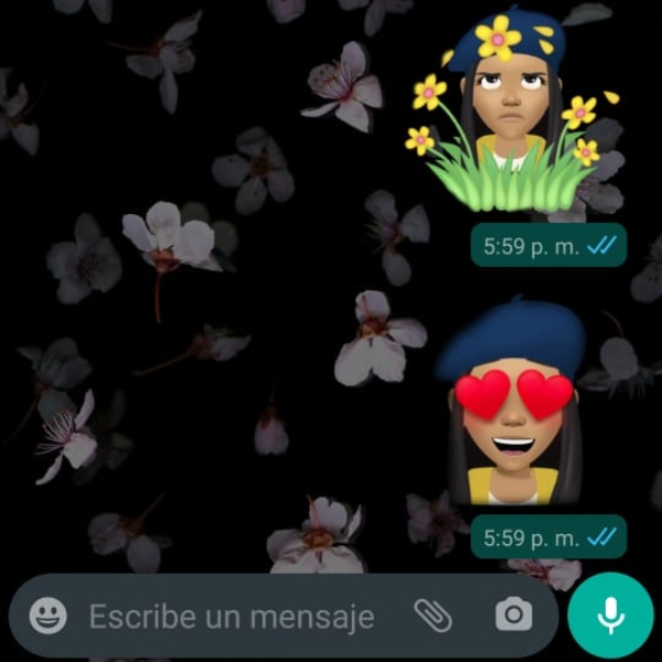 Avatar de Facebook como stickers de WhatsApp