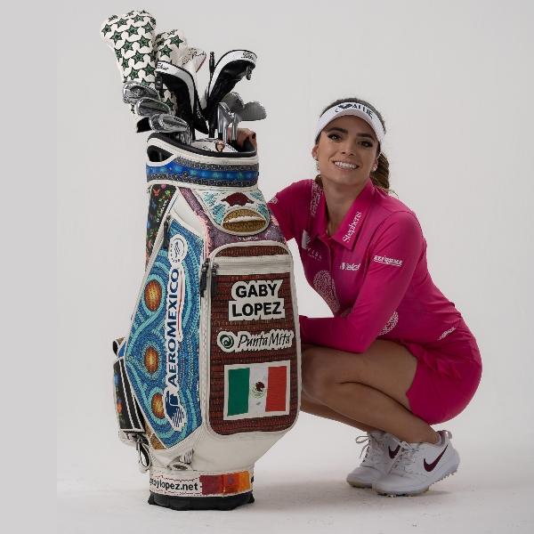 Gaby López se prepara para el torneo ANA Inspirational