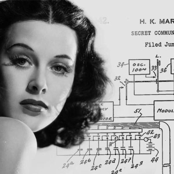 WIFI Hedy Lamarr inventos tecnológicos mujeres