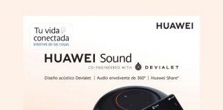 Estrena un Huawei Sound al mejor precio en Telcel