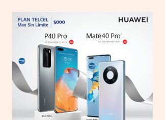 Aprovecha el increíble precio de Huawei P40 Pro y Huawei Mate40 con con tu Plan Telcel Max Sin Límite 5000.