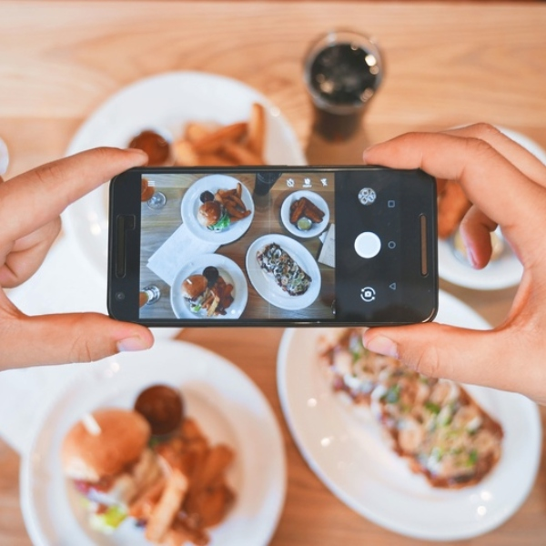 Foto comida para Instagram