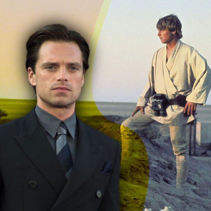 Sebastian Stan parecido Mark Hamill Luke Skywalker