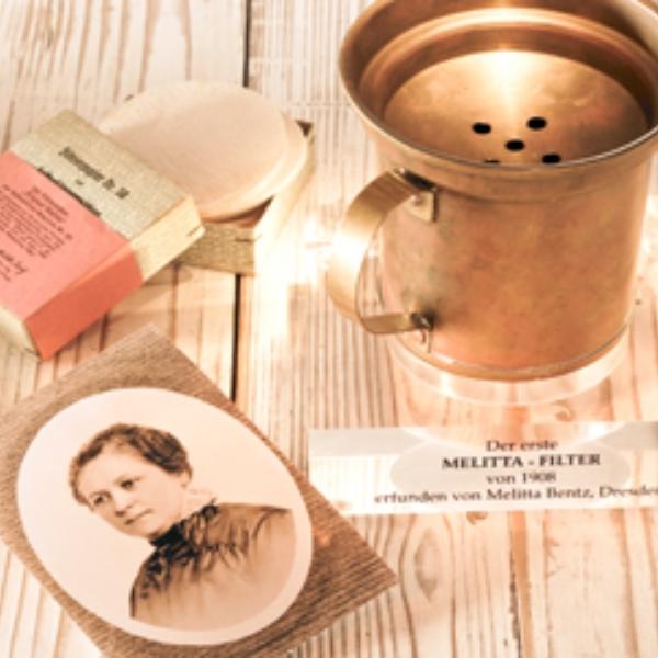 Melitta Bentz creadora filtros para café mujeres