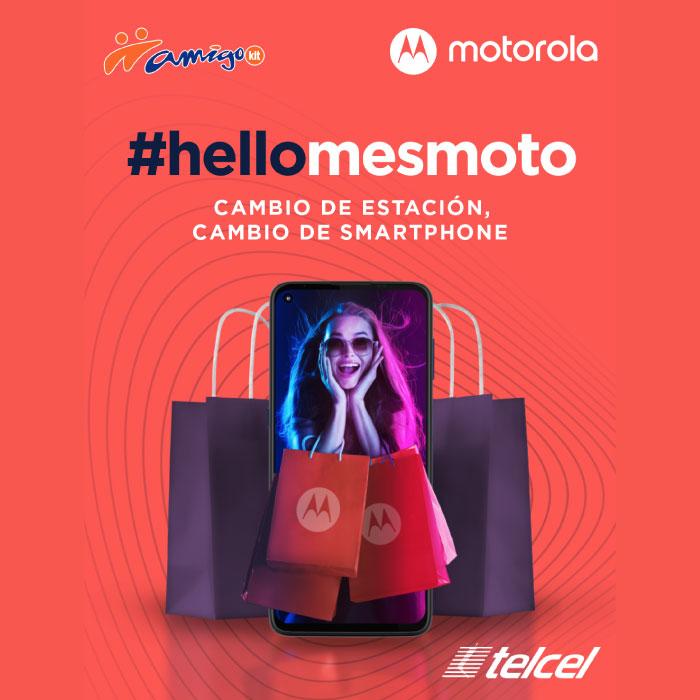 Estrena el smartphone ideal durante el Mes Moto y aprovecha los descuentos