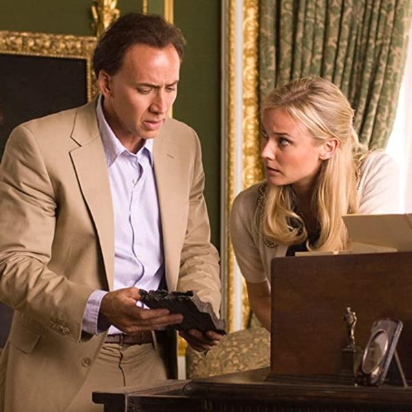 Diane Kruger y Nicolas Cage