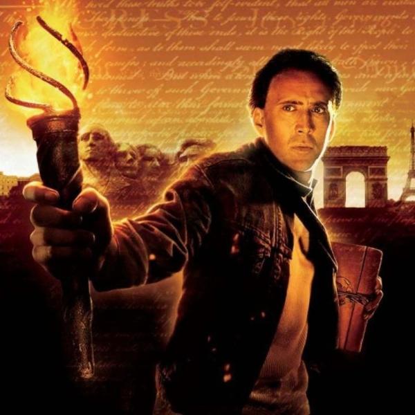 Nicolas Cage La Leyenda del Tesoro Perdido serie