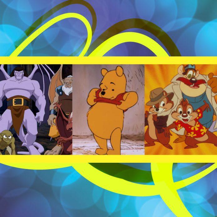 Caricaturas de los de los '80 y '90 disponibles en Disney+