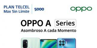 Oppo Series promoción Telcel