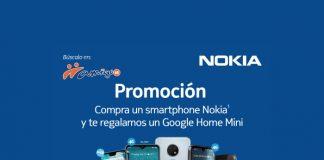 Promoción Nokia Google Home Mini Telcel Amigo Kit