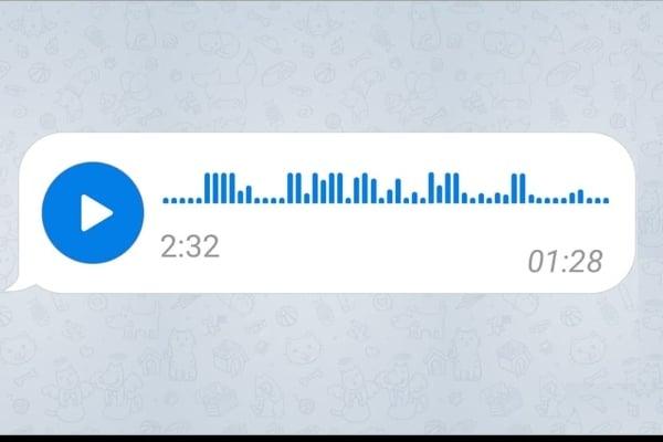 Telegram audios