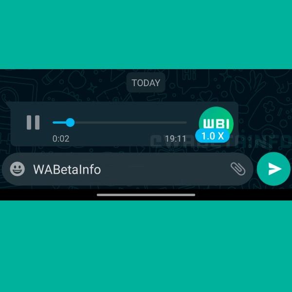 WhatsApp prueba tres velocidades de reproducción para mensajes de voz