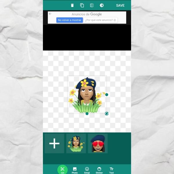 Wemoji cómo crear un sticker para WhatsApp