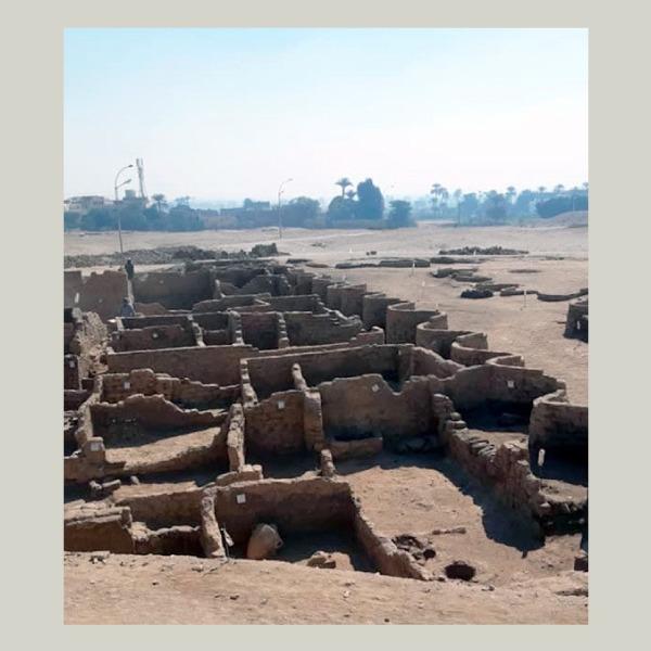 descubren Ciudad Dorada Perdida de Luxor
