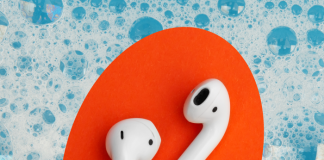 Minilavadora apra audífonos inalámbricos
